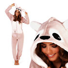 Loungeable Boutique Womens Luxury Applique Kangaroo Super Soft Hooded All In One