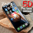 4D 5D Full Cover 9H Tempered Glass Screen Protector Film For iPhone X 8 8+ 7 6S