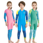 2018 NEW Kids One-piece Swimwear Coverall Wetsuit Surfing Diving Suit Boys Girls