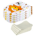 5 Diapers + 5 Inserts Adjustable Reusable Baby Washable Cloth Pocket Nappies USA
