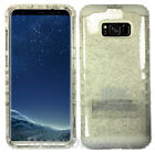 GLITTER Shock Proof Fullbody Protection Hybrid Cover Case for Cell Phone