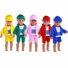 Fashion Children Gifts Baby born clothes 43cm fit 18in American Doll clothes