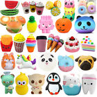 Lot Jumbo Squishy Super Soft Slow Rising Squeeze Toys Pressure Relief Kids Gifts