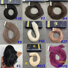 blonde to strawberry blonde hair - Ugeat variety of solid/unmixed Natural color Tape in Real Human Hair extensions