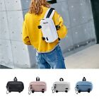Casual Faux Leather Zip Fanny Waist Pack Hip Sack Shoulder Chest Sling Bag Gift