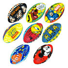 Mini Kids and Youth Rugby Balls Cartoon Characters Novelty Complete Set