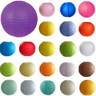 "12 Colors 4""6""8""10""12"" Paper Lanterns Wedding Party Venue Birthday Decorations"