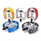 "Old school BMX XC-II Wellgo bear trap pedals 9/16"" Blue Black Red Gold Silver"