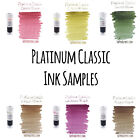 Platinum Classic Fountain Pen Ink 3ml Samples - Iron Gall - 6 Colors