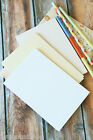Superior Postcards 270gsm Textured Wedding Craft Card Oatmeal Felt White Biscuit
