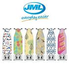 JML FastFit Ironing Board Cover Ultimate 100% Cotton Foam Non-Slip Elasticated