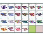 Внешний вид - DOUBLE FACED SATIN Ribbon,1-10yards/Roll,  22 kinds of styles polyester  Crafts