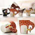 Cute 3D Hand-painted Ceramic Cup Animal Cup Tea Mug Coffee Mug Creative Gift
