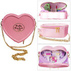 Official Licensed Pink Polly Pocket Ladies Heart Shaped Retro Cross Bag By UWear