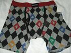 New Harry Potter Hogwarts Gryffindor Slytherin House Boxer Briefs Underwear