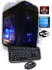 Quad-Core Gaming Desktop PC Computer AMD Custom 4.0GHz 8GB 16GB 1TB 2TB HDMI