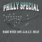 special t shirts - Philly Special Made with 100% G.O.A.T. Meat Philadelphia Eagles Champions Shirt