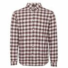 FARAH MEN'S FLANNEL SHIRT COLEVILLE LONG SLEEVED CASUAL SMART SALE AW17 NEW