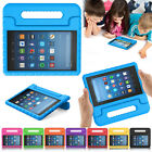 Kids Shockproof Eva Foam Stand Case Cover for Amazon kindle Fire HD 7 8 (2017)