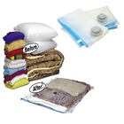 10 Pack - Vacuum Storage Bags - Space Saving Seal Clothes & Bedding 55x85 100x70