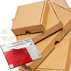 BROWN C5 A5 SIZE BOX LARGE LETTER STRONG CARDBOARD SHIPPING MAILING POSTAL PIP