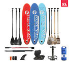TwoBareFeet Entradia XL 10'10'' x 6'' Inflatable Paddleboard- Package Choice