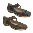 Ladies Shoes Lorella Penny Mary Jane style Purple Multi or Taupe Size 6-10 NEW