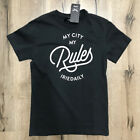 t-shirt IRIE DAILY my city typo tee NUOVO coal hip hop surf snow rap