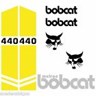 Bobcat 440 443 443B DECALS Stickers Skid Steer loader New Repro decal Kit