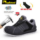 lightweight steel toe shoes - Safety Shoes Mens Work Boots Metal-free Sports Light Weight Composite Steel Toe