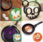 pancake rabbit - Home Kitchen Fried Egg Shaper Silicone Pancake Ring Mould Mold Cooking Tool US