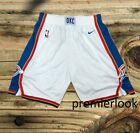 Oklahoma City Thunder White Basketball Shorts NWT