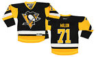 Reebok NHL Youth Pittsburgh Penguins Evgeni Malkin 71 Premier Jersey Black
