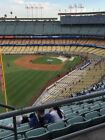 UP TO 2 DODGERS RESERVE TICKETS 3/27 AISLE 53 ROW BB vs. ANGELS AISLE SEATS фото