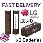 BOXED 100% Genuine LG HG2 3000mAh High Drain Rechargeable Battery Batteries Vape
