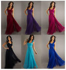 New Formal Chiffon Long Evening Ball Gown Party Prom Wedding Bridesmaid Dress