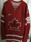 2010 Nike IIHF On Ice Authentic Winter Olympic Team Canada Hockey Jersey Rd Wh