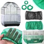 Easy Cleaning Nylon Airy Fabric Mesh Bird Cage Cover Skirt Seed Catcher Guard Ji