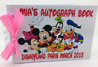 A6-Personalised Disney Autograph Book-Pocket Size HARDBACK  PROTECTIVE COVERS +