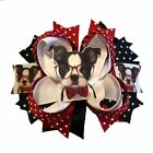 Boston Terrier Boutique Hair Bow