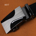 New Luxury Men's Business Buckle Genuine Belt Automatic Waistband Leather·Strap