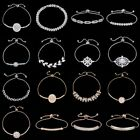 New Crystal CZ Bangle Bracelet Women Wedding Bridal Bride Party Jewellery Gift