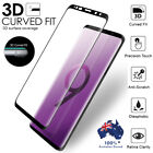 For Samsung Galaxy S9+ S8 Plus Note 8 Tempered Glass Full Cover Screen Protector