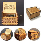Boy Girls Music Box Harry Potter Game of Thrones Star Wars Engraved Toy Kid Gift