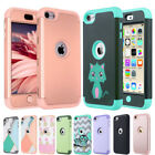Hybrid Protective Silicon Hard Case Cover For Apple iPod Touch 5 6th Generation