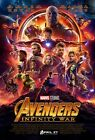 "Avengers Infinity War Movie Poster 13x20"" 27x40"" 32x48"" Marvel Comics Film Print"
