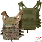 Lightweight Plate Carrier Tactical Vest - Rothco MultiCam or OD Mag Pouch Vests