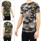 Brave Soul Mens Canopusb Camo Print T Shirt Casual Cotton Crew Neck Short Sleeve