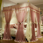 bed netting lace bed curtain head bed canopy for summer frames mosquito net king image