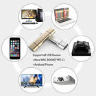 2018 3 in 1 Type-C3.1 USB-C Micro TF SD Card Reader Adapter For Macbook Android